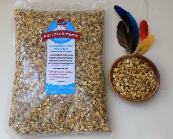 Herbal Seed Mix-White Mix